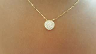 Pawnable 18k Japan Gold Necklace with Pendant