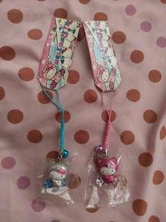全新Hello Kitty 吊飾, 電話繩