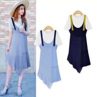 DRESS WITH BLOUSE