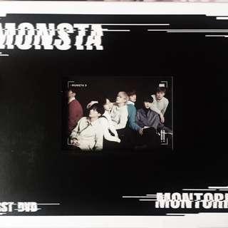 [WTS] Monsta X 1st DVD Montories