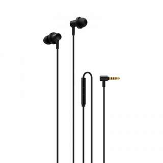 Xiaomi Mi In-Ear Headphone 2 - Dynamic Drivers, Built-In Mic, 4 Size Ear Plugs, 100dB (CVAIA-A896)