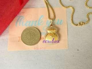"👜🌟 SOLD Necklace 24 "" and Hetian Jade Moneybag Necklace 🌟👜"