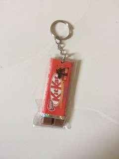 kitkat keychain