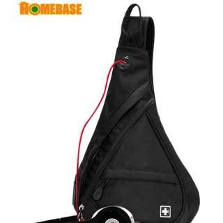 HOMEbase Original Authentic Swiss Gear Design Backpack BLACK COLOUR (bag1630)