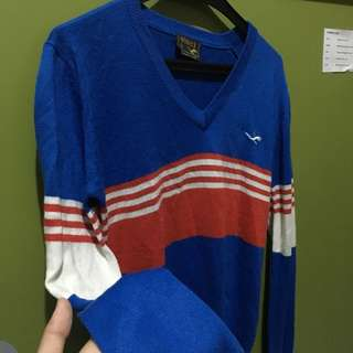 Blue vinci sweater