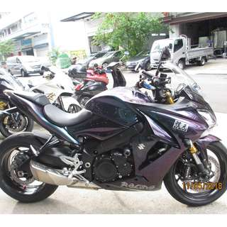 Suzuki gsxs 1000 2016 $23k D/P $1500 or $500 Without Insurance  (Terms and conditions apply. Pls call 67468582 De Xing Motor Pte Ltd Blk 3006 Ubi Road 1 #01-356 S 408700.