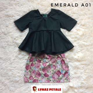 Emerald Peplum + Skirt