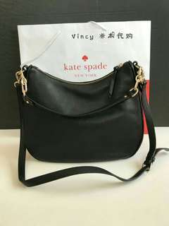 (Ready Stock) New Authentic Kate Spade Black shoulder / sling bag