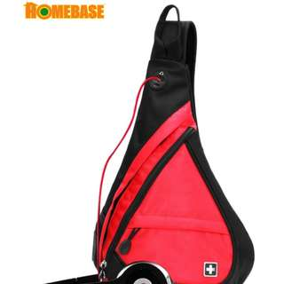 HOMEbase Original Authentic Swiss Gear Design Backpack RED COLOUR (bag1630)