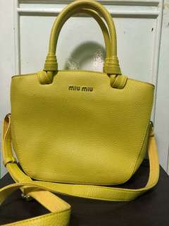 miu miu two way bag