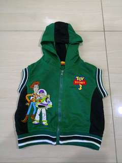 Kids Toy Story Sleeveless Sweater ( 2-3 years.)