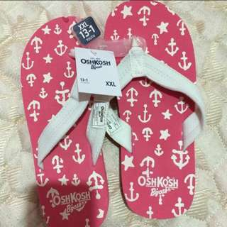 Oshkosh flipflop (new) authentic