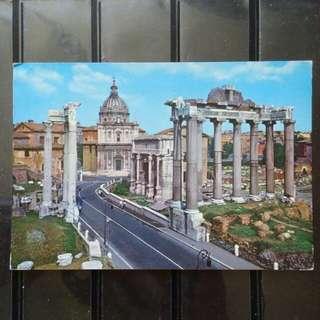 [lapyip1230] 梵蒂岡 1980年 羅馬古城 彩色明信片