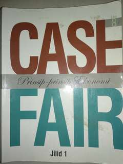 Case and Fair Prinsip-Prinsip Ekonomi