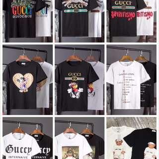 Gucci男女同款T恤