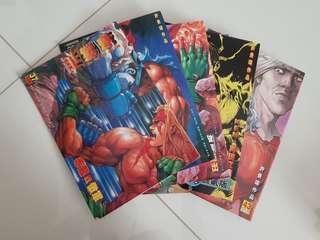 Street Fighter 3rd Strike New Generation Comic