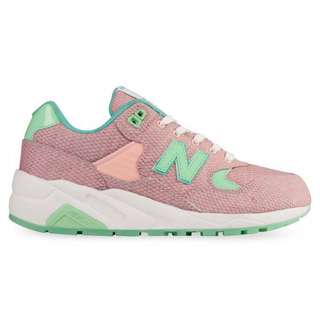 New Balance RevLite 580 Elite Edition Womens Trainers Pink/Aqua