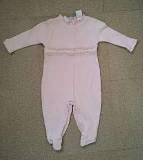 Preloved bodysuit/jumpsuit for baby girl