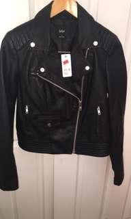 Bardot PU leather jacket