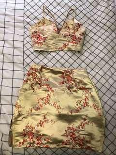 Oriental cherry blossom set