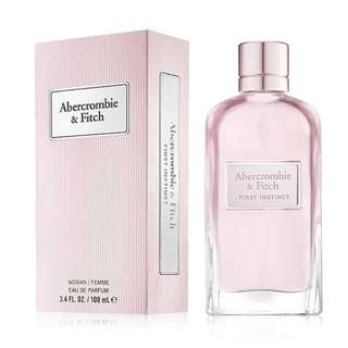 ABERCROMBIE & FITCH FIRST INSTINCT FEMME EDP FOR WOMEN 100ML
