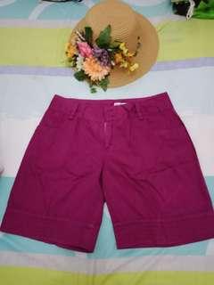 SALE Celana pendek ungu