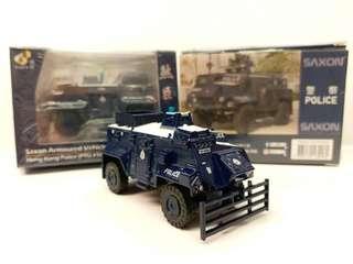 TINY Saxon Armoured Vehicle Hong Kong Police (PTU #96) 微影 機動部隊裝甲車 煞臣 96