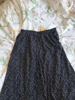 Supre maxi dotty print skirt size 12