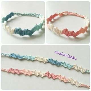 波浪紋手繩