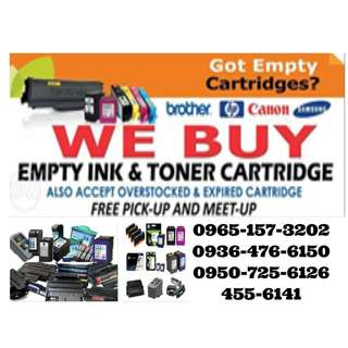 Trusted and Highest buying Buyer Of Empty Ink Cartridges and Toner