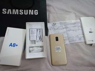 Samsung A8 Plus Gold