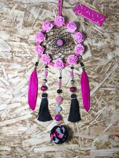 Fuschia Dreamcatcher