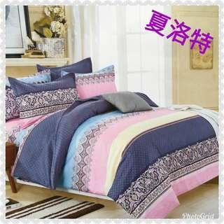 🚚 (雙人薄床包三件式)現貨 舒柔棉 薄床包 磨毛 熱銷床包組 雙人/床包 床單~可挑款