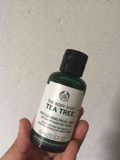 The body shop tea tree wash