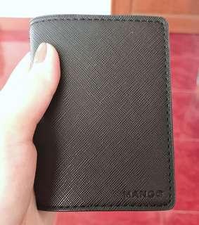 MANGO Saffiano-effect Card Holder