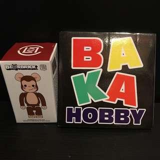 Bearbrick 100% Clot 一只猴子 陳冠希