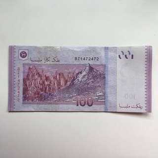 RM100, BZ1472472