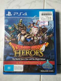 Brand New PS4 Dragon Quest Heroes