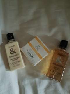 L'OCCITANE 3 PCS SET