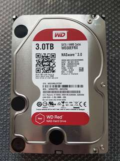 "3TB WD Red 3.5"" NAS Hard Drive"