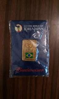 2002 世界盃 巴西 紀念 襟章