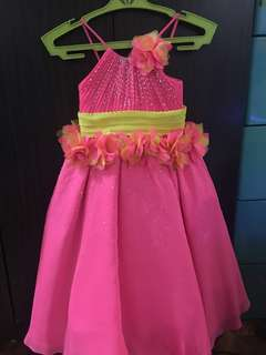 Leonard Co 2-3T Pink Gown