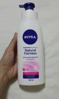 NIVEA Body Lotion Natural Fairness from Dubai