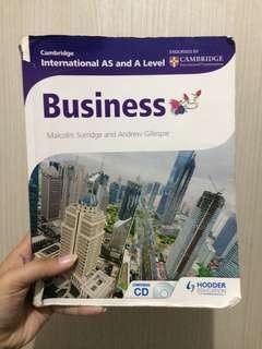 Cambridge AS Level Business Book