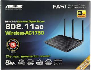 Asus RT-AC66U B1 Wireless Router AC1750