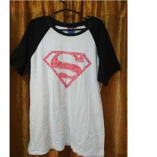 Superman raglan tee