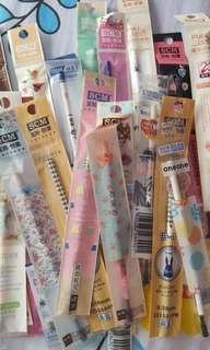 Cute uniball pens