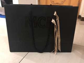 MCM Big Paper Bag + 2 Ribbon