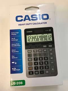 Casio Heavy Duty Calculator JS-20B