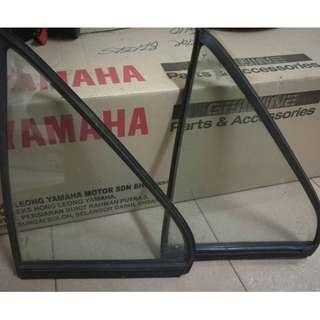 Cermin segitiga cromax lancer/evo 3